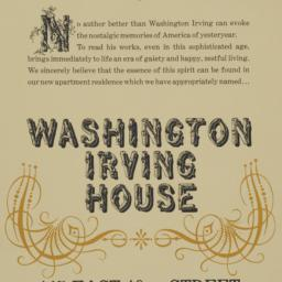 Washington Irving House, 14...