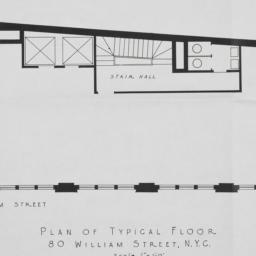 80 William Street, Plan Of ...
