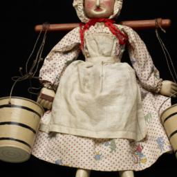 Milkmaid Marionette With Yo...