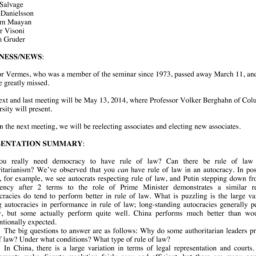 Minutes, 2014-04-08. Law an...