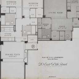 20 E. 68 Street, Plan Of F ...