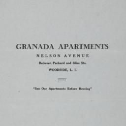 Granada Apartments, Nelson ...
