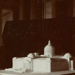 Model, view from corner