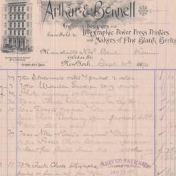 Arthur & Bonnell. Bill or r...