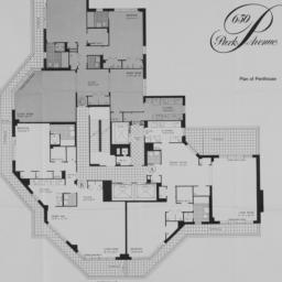 650 Park Avenue, Plan Of Pe...