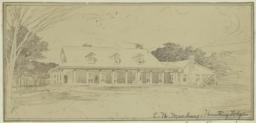 C. H. Mackay Hunting Lodge. [Clarence H. Mackay Hungint Lodge, perspective]
