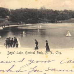 Boys' Lake, Central Park, N...