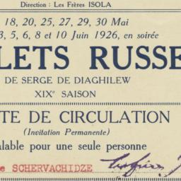 Ballets Russes de Serge de ...