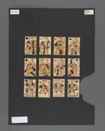 Standard deck of playing cards with French suits,  Languedoc pattern