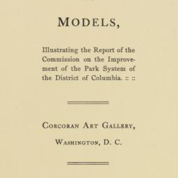 Catalog of Exhibits for Rep...