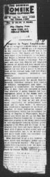 """Article referencing AN AMERICAN DILEMMA, """"Progress in Negro Employment,"""" NEW YORK HERALD TRIBUNE, February 4, 1944"""