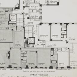 50 E. 77 Street, Plan Of 3r...