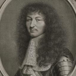 Portrait of Louis XIV, King...