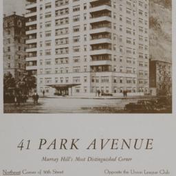 41 Park Avenue