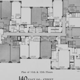 140 E. 56 Street, Plan Of 1...