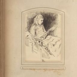 Girl Seated and Reading