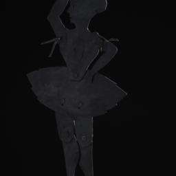 Ballerina Shadow Puppet