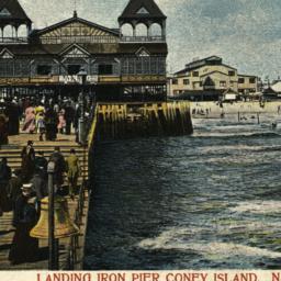 Landing Iron Pier Coney Isl...