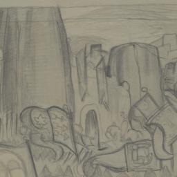 Scenery Sketch for Nikolai ...