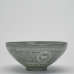Bowl with a Design Depictin...