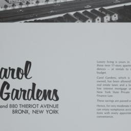 Carol Gardens, 820 Thieriot...