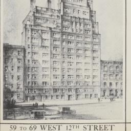 59 To 69 West 12th Street