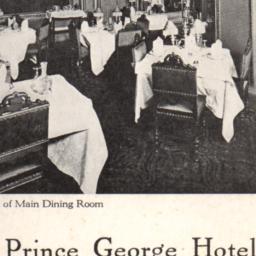 Prince George Hotel Corner ...