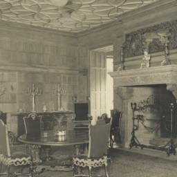 Dining-room, looking from N...