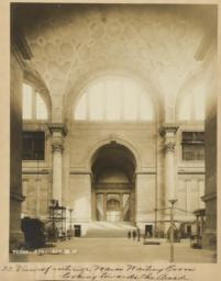 23. View of interior Main Waiting Room looking towards the Arcade