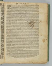 Folio 2r; To The Christian Reader