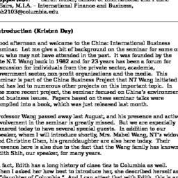 Minutes, 2005-02-22. China:...