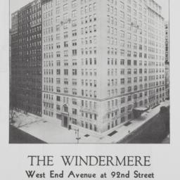 The     Windermere, West En...