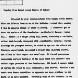 Letter from Thomas B. Apple...