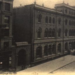 Astor Library, N.Y. City.