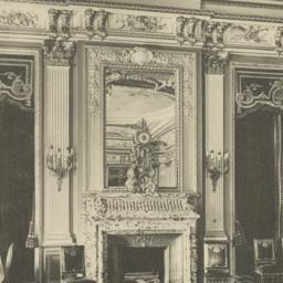 Dining-room fireplace: Metr...