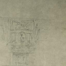 [Sketch of fireplace]