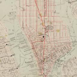 New map of New York City : ...