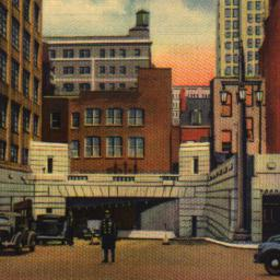 Entrance to Holland Tunnel,...