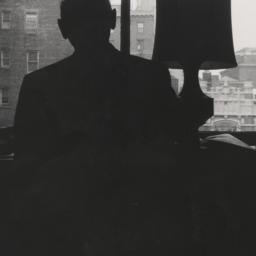 Isaac Bashevis Singer at work