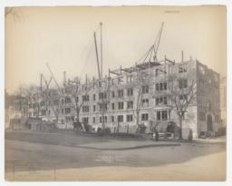 Union Theological Seminary, Broadway and 122nd St. C-6971. Dormitory