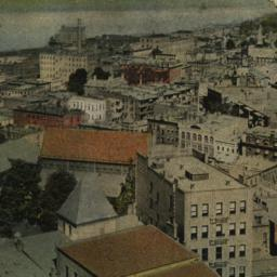 Bird's-eye View of Yonkers,...