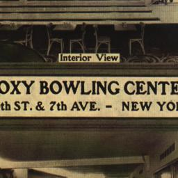 Roxy Bowling Center Interio...
