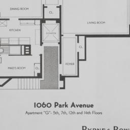 1060 Park Avenue, Apartment...