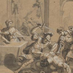 Odysseus Attacking Penelope...