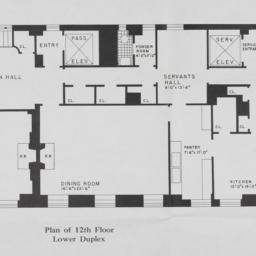 4 Sutton Place, Plan Of 12t...