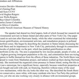 Minutes, 2014-04-21. Ecolog...