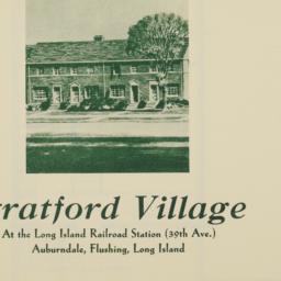 Stratford Village, 37 Avenu...