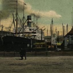 View Along the Docks Showin...