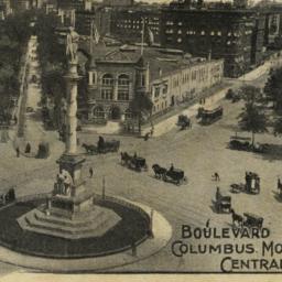 Boulevard Columbus Monument...