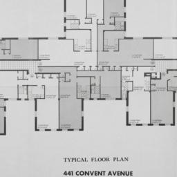 441 Convent Avenue, Typical...